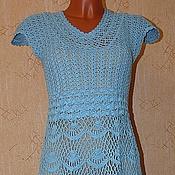 """Одежда ручной работы. Ярмарка Мастеров - ручная работа платье ажурное """"Кларисса"""". Handmade."""