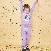 Одежда ручной работы. Ярмарка Мастеров - ручная работа Детский костюм Единорог сиреневый. Handmade.