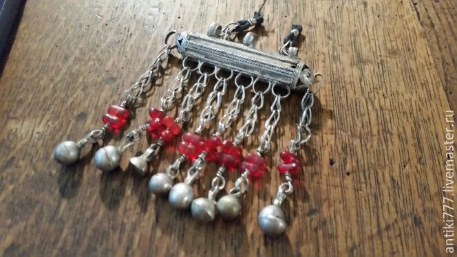 Vintage Jewelry. Livemaster - handmade. Buy East silver hanging decoration.Silver