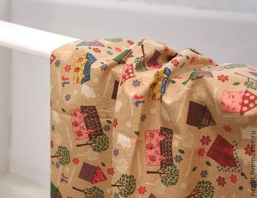 Шитье ручной работы. Ярмарка Мастеров - ручная работа. Купить 275 Хлопок остаток. Handmade. Мир тканей, ткани корея