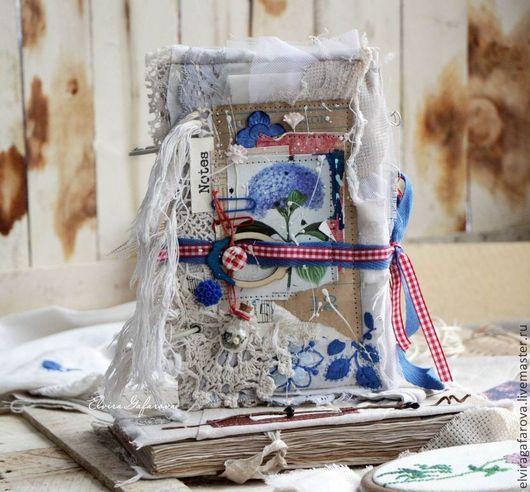 """Блокноты ручной работы. Ярмарка Мастеров - ручная работа. Купить Блокнот  """"Лето в мечтах"""". Handmade. Блокнот ручной работы, мягкий"""