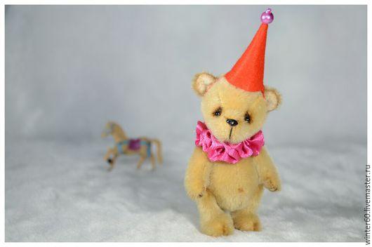 Мишки Тедди ручной работы. Ярмарка Мастеров - ручная работа. Купить Медвежонок Бом. Handmade. Коричневый, подарок, стекло