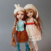 Куклы и игрушки ручной работы. Ярмарка Мастеров - ручная работа Фарфоровая шарнирная кукла Ксюша. Handmade.