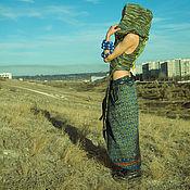 Одежда handmade. Livemaster - original item Silk Ethnic Skirt. Handmade.