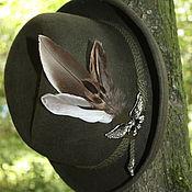 """Наборы ручной работы. Ярмарка Мастеров - ручная работа """"Тирольская"""" шляпа,  подарок охотнику. Handmade."""