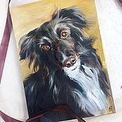 Картины и панно handmade. Livemaster - original item Pet portrait, oil painting. Handmade.