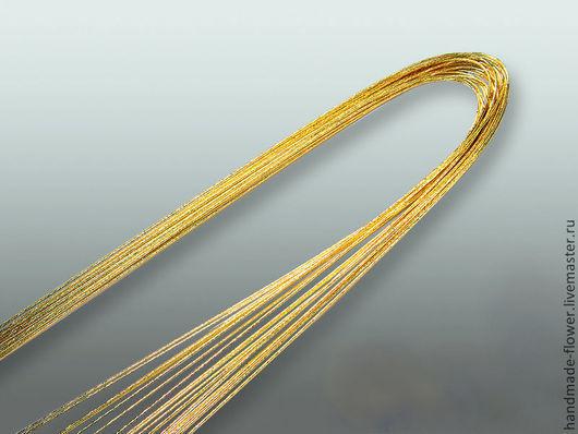 Проволока № 20 (72 см) Цвет Золото , в пачке 20 шт.  Производство Япония