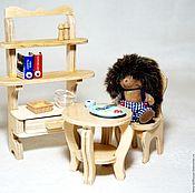 handmade. Livemaster - original item A set of furniture for dolls house or roombox (miniature). Handmade.