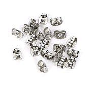 Материалы для творчества handmade. Livemaster - original item Caps for earrings (pousset) metal. Handmade.