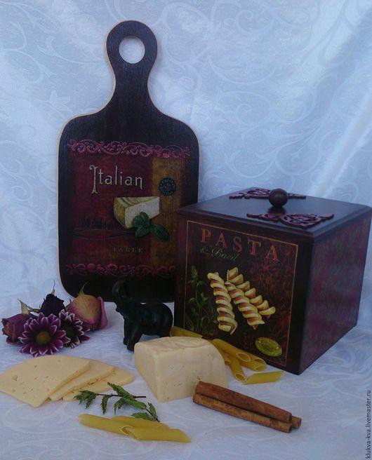 """Кухня ручной работы. Ярмарка Мастеров - ручная работа. Купить Комплект для кухни """"Моя Тоскана"""". Handmade. Короб для хранения"""