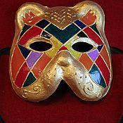 Подарки к праздникам ручной работы. Ярмарка Мастеров - ручная работа Венецианская карнавальная маска - Гатто (кот). Handmade.