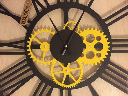 """Часы для дома ручной работы. Ярмарка Мастеров - ручная работа. Купить Часы 50см """"Kaiku-varv"""". Handmade. Настенные часы"""