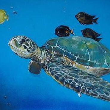 Картины и панно ручной работы. Ярмарка Мастеров - ручная работа Гибралтар. Handmade.