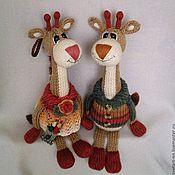 Куклы и игрушки ручной работы. Ярмарка Мастеров - ручная работа Жирафы. Handmade.