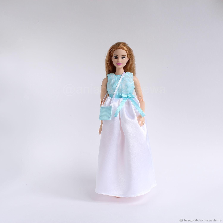 Одежда для Curvy-Барби. Вечернее платье, Одежда для кукол, Орел,  Фото №1
