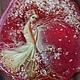 """Комплекты украшений ручной работы. Заказать Комплект украшений """" Яблоневый снег"""" (большой кулон и серьги). Талеева Анна. Ярмарка Мастеров."""
