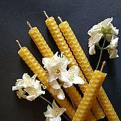 Фен-шуй и эзотерика handmade. Livemaster - original item Candles Jasmine - money, love - series storm grass. Handmade.