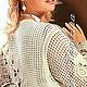 Жакет Ирландское кружево-авторская работа Кавизиной Галины.Фото на обложке Журнала мод