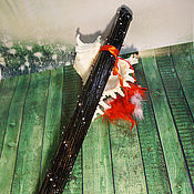 Музыкальные инструменты ручной работы. Ярмарка Мастеров - ручная работа Посох дождя ( Rainstick) (черный 50-55 см). Handmade.