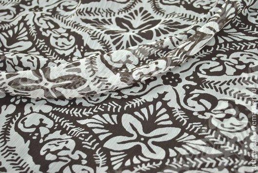 Шитье ручной работы. Ярмарка Мастеров - ручная работа. Купить Шелк 01-003-1780. Handmade. Молочный, ткани Италии