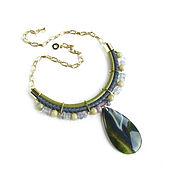 Украшения handmade. Livemaster - original item Necklace made of leather