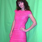 Одежда ручной работы. Ярмарка Мастеров - ручная работа Платье Queen по мотивам Ванессы Монторо (100%шелк). Handmade.