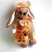 Куклы и игрушки ручной работы. Ярмарка Мастеров - ручная работа Вязаная мягкая  игрушка Зайка Майка. Handmade.