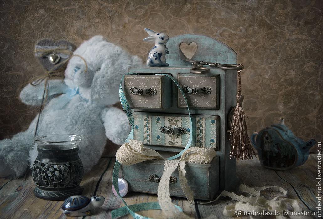 Mini dresser Favorite. Decoupage, Dressers, Khimki,  Фото №1