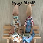 Куклы и игрушки ручной работы. Ярмарка Мастеров - ручная работа Лосики. Handmade.