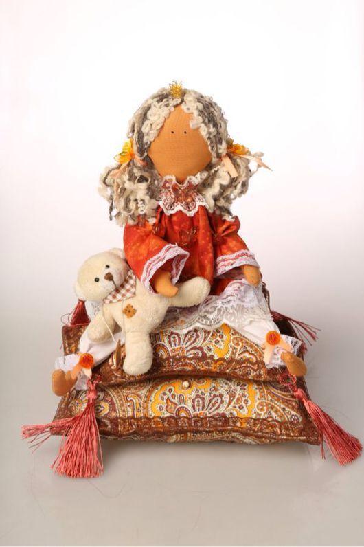 Куклы Тильды ручной работы. Ярмарка Мастеров - ручная работа. Купить Принцесса на горошине. Handmade. Рыжий, тильда кукла