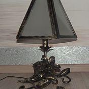 Для дома и интерьера handmade. Livemaster - original item Wrought iron table lamp. Handmade.