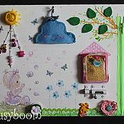 Куклы и игрушки ручной работы. Ярмарка Мастеров - ручная работа Принцессин бизиборд. Handmade.