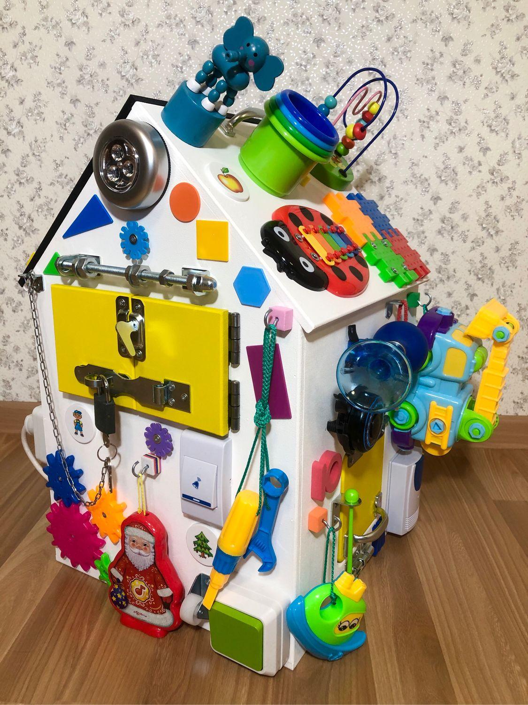 Бизиборд дом. Все для развития вашего малыша в одном бизидоме, Бизиборды, Сургут,  Фото №1