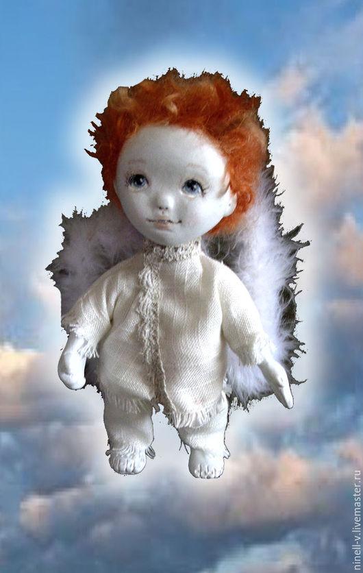 """Сказочные персонажи ручной работы. Ярмарка Мастеров - ручная работа. Купить Ангел """"Мамино солнышко"""". Handmade. Белый, ангел в подарок"""