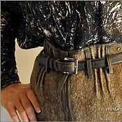 """Одежда ручной работы. Ярмарка Мастеров - ручная работа Брюки валяные """"Кофейная зима"""". Handmade."""
