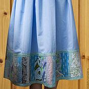 Одежда ручной работы. Ярмарка Мастеров - ручная работа Летняя хлопчатобумажная юбка в стиле бохо. Handmade.
