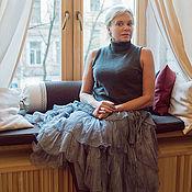 Одежда manualidades. Livemaster - hecho a mano Wraparound skirt boho style