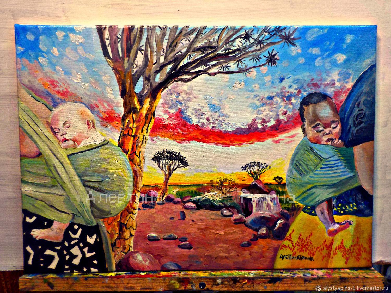 колыбель мира, Картины, Самара,  Фото №1