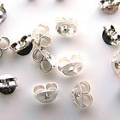 Материалы для творчества handmade. Livemaster - original item Plugs for puset earrings 925 sterling silver Bali. Handmade.