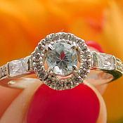 Украшения handmade. Livemaster - original item Ring with aquamarine. Handmade.
