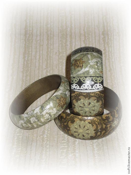 женский недорогой красивый модный стильный оливковый хаки браслет недорого дерево подарок что подарить девушке сестре маме подруге себе женщине на 8 марта день рождения дерево