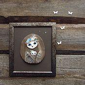 """Картины и панно ручной работы. Ярмарка Мастеров - ручная работа Картина керамическая """"Мама"""". Handmade."""