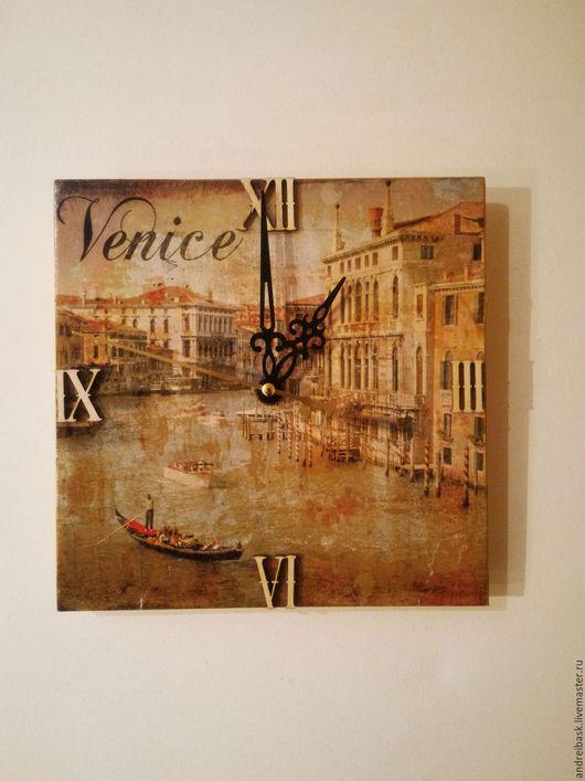 """Часы для дома ручной работы. Ярмарка Мастеров - ручная работа. Купить Часы настенные ,ручная работа """"Венеция"""". Handmade. Венеция"""
