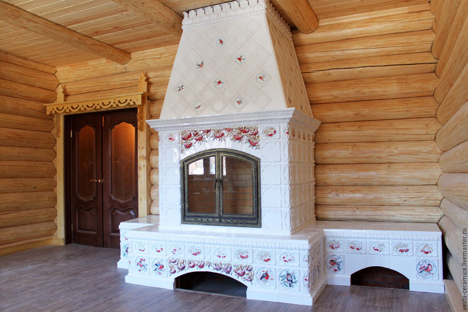 Fireplace 'Rowan red', Fireplaces, Moscow,  Фото №1