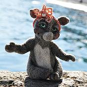 """Куклы и игрушки ручной работы. Ярмарка Мастеров - ручная работа Носорожка """"Аришка"""". Handmade."""
