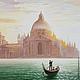 """Пейзаж ручной работы. Заказать Картина """"Венеция. Гранд-канал"""". Эдуард Жалдак - живопись. Ярмарка Мастеров. Городской пейзаж"""