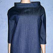 """Одежда ручной работы. Ярмарка Мастеров - ручная работа Платье """"оверсайз"""" джинсовое. Handmade."""