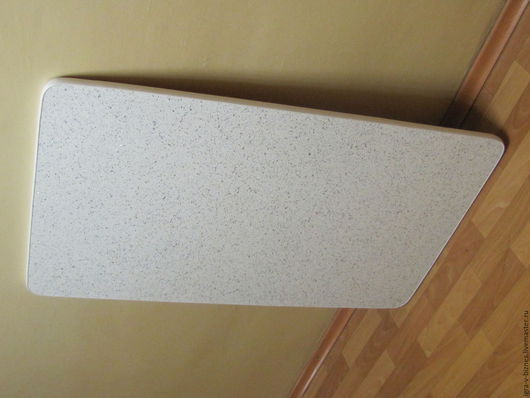 Глянцевый пластик `Искра белая` 1200х700