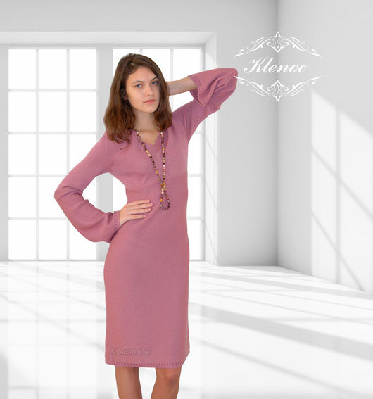 Dresses handmade. Livemaster - handmade. Buy Knitted dress 'Dawn'.Dress, dress knitted, knitted things, dress copyright