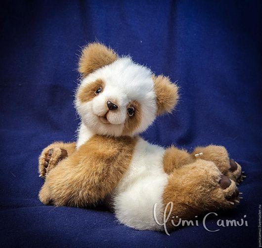 Мишки Тедди ручной работы. Ярмарка Мастеров - ручная работа. Купить Тедди панда Ли Джуан. Handmade. Комбинированный, мишка